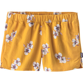 Patagonia Barely Baggies Shorts Dam mariposa lily: rugby yellow